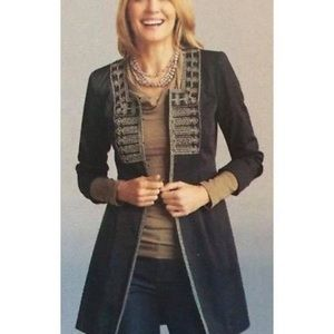 Cabi Turkish Delight Duster Jacket Military 184 Q